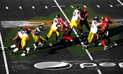 Photograph - Stamps Vs Ticats by David Pantuso