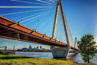 Photograph - Stan Musial Bridge St Louis Mo_dsc4578_16_66 by Greg Kluempers