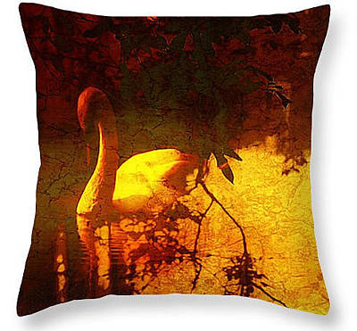 Digital Art - Stand By Me Throw Pillow by Fine Art By Andrew David