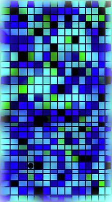 Mosaic Tesserae Tiles Digital Art - Stand Out Viii V by Stephanie Brock