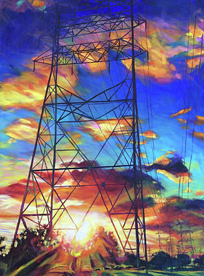 Painting - Stand Tall by Bonnie Lambert