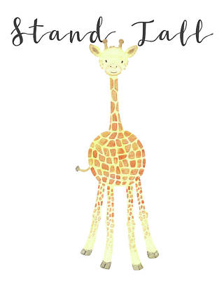 Painting - Stand Tall by Kim W Nolan