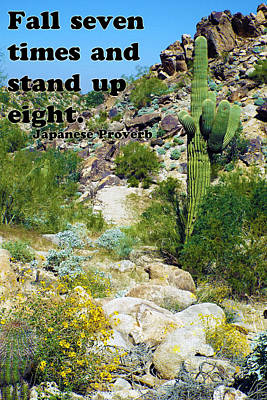 Photograph - Stand Up by Judi Saunders