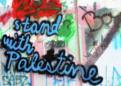 Photograph - Stand With Palestine by Munir Alawi