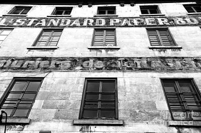 Photograph - Standard Paper Windows by John Rizzuto