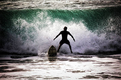 Photograph - Standby Surfer by Jim Albritton
