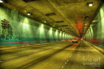 Photograph - Standing Almost In Traffic The Tetsuo Harano Tunnel Hawaii Collection Art by Reid Callaway