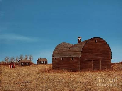 Painting - Standing Alone by Billinda Brandli DeVillez