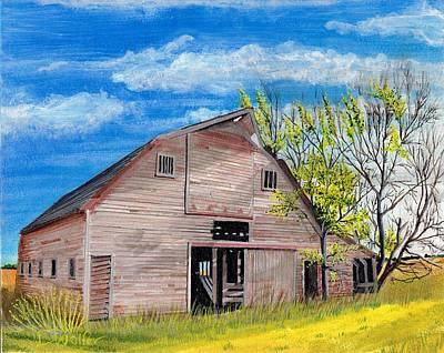 House Painting - Standing And Waiting by David Wolfer