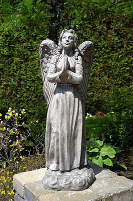 Sculpture - Standing Angel by Patrick RANKIN