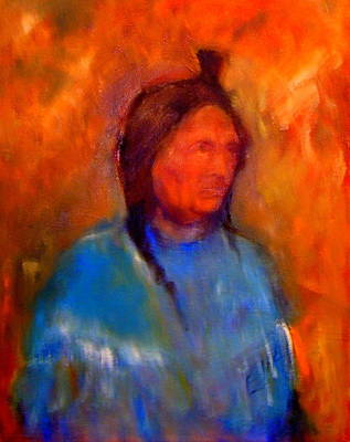 Painting - Standing Bear by Johanna Elik