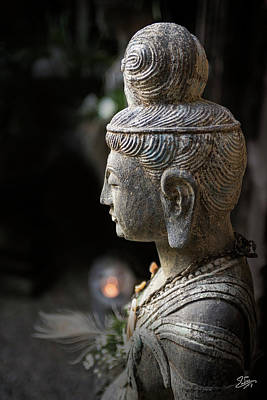 Photograph - Standing Buddha 1 by Endre Balogh