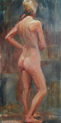 Painting - Standing Figure by Emily Olson