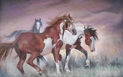 Painting - Standing Ground by Karen Kennedy Chatham