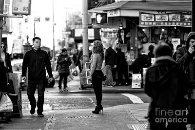 Photograph - Standing In The Street by John Rizzuto