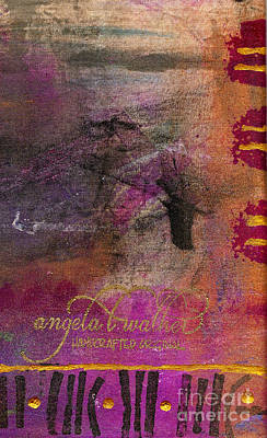 Mixed Media - Standing In The Wind by Angela L Walker