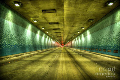 Photograph - Standing In Traffic The Tetsuo Harano Tunnel Hawaii Collection Art  by Reid Callaway