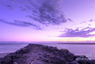 Royalty-Free and Rights-Managed Images - standing on South Jetty by Masako Metz