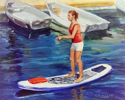 Painting - Standing On Water by Connie Schaertl