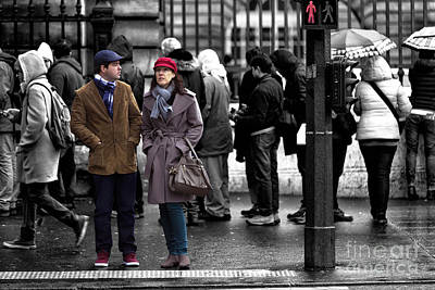 Photograph - Standing Out In Paris by John Rizzuto