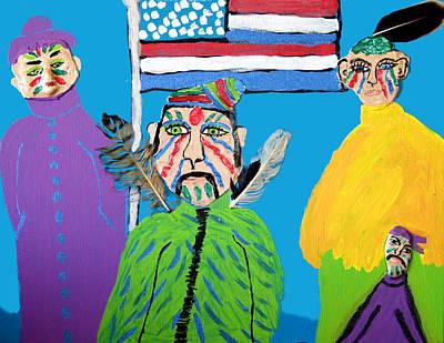 Standing Proud Art Print by Betty  Roberts