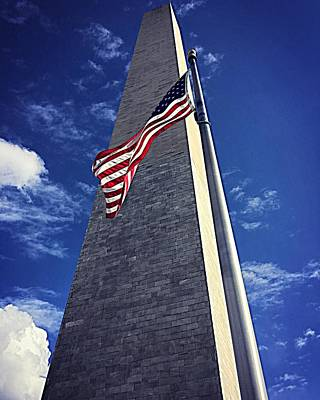 Photograph - National Monument Standing Proudly by Ellen Levinson