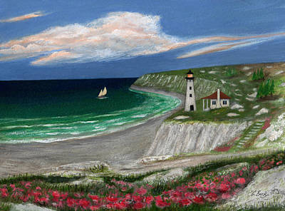 Maine Painting - Standing Ready by Gordon Beck