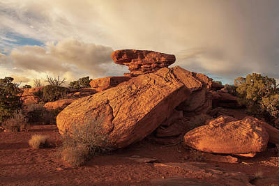 Photograph - Standing Rocks In Canyonlands by Alan Vance Ley