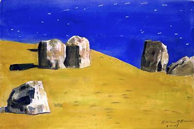 Painting - Standing Sentinels by Kathleen Barnes
