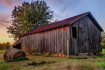 Photograph - Standing Still - Old Barn Photography by Gregory Ballos