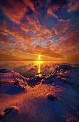 Print featuring the photograph Standing Stilled by Phil Koch