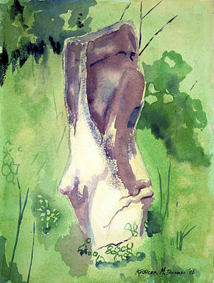 Painting - Standing Stone by Kathleen Barnes