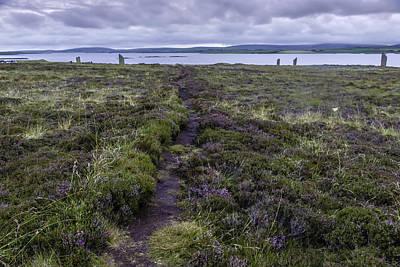 Photograph - Standing Stones Of Stenness, Orkney by Printed Pixels