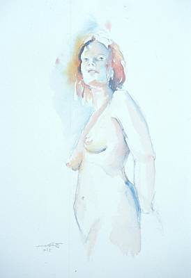 Painting - Standing Study 2 by Barbara Pease