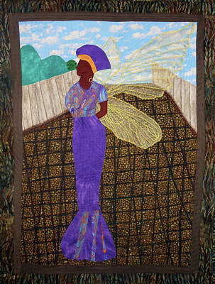 Tapestry - Textile - Standing Tall by Aisha Lumumba
