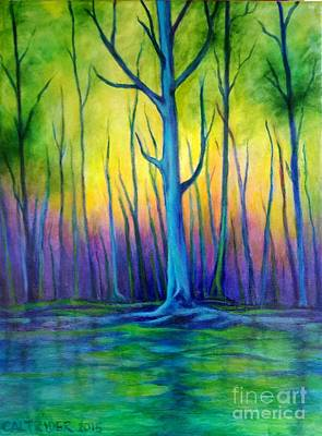 Painting - Standing Tall  by Alison Caltrider