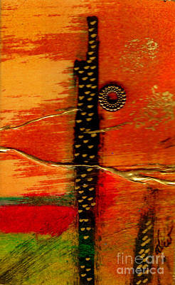 Mixed Media - Standing Tall by Angela L Walker