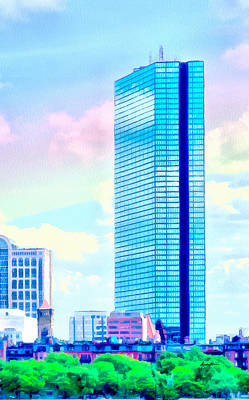 City Scape Digital Art - Standing Tall by Anthony Caruso