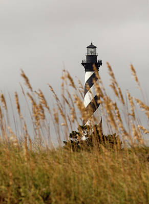 Art Print featuring the photograph Standing Tall At Hatteras by Chris Babcock