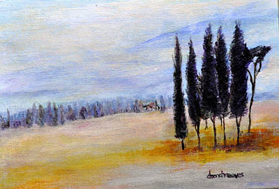 Painting - Standing Tall by Dottie Branchreeves