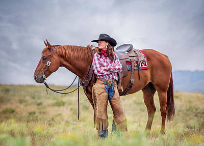 Photograph - Standing Tall by Fast Horse Photography