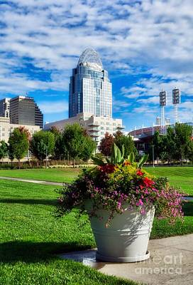 Photograph - Standing Tall In Cincinnati by Mel Steinhauer