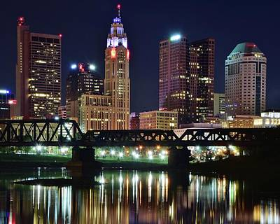 Photograph - Standing Tall Over The Scioto 2016 by Frozen in Time Fine Art Photography