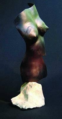 Sculpture - Standing Torso by Todd Malenke