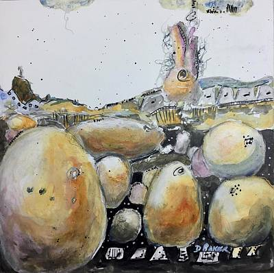 Mixed Media - Standing Upon The Shoulders Of Giants by Dolores Baker