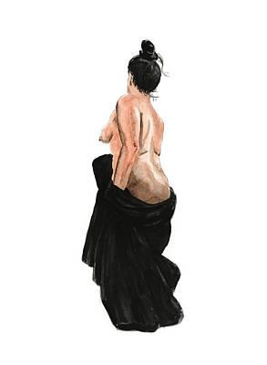Painting - Standing Woman by Masha Batkova