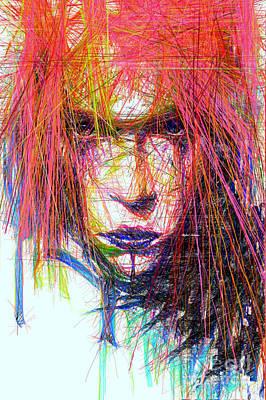 Digital Art - Standout Look by Rafael Salazar