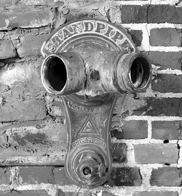 Photograph - Standpipe Bw #7 by David Lee Thompson