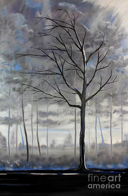 Painting - Stands Alone by Stacey Zimmerman