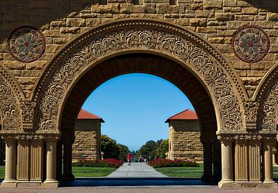 Stanford Main Quad Art Print